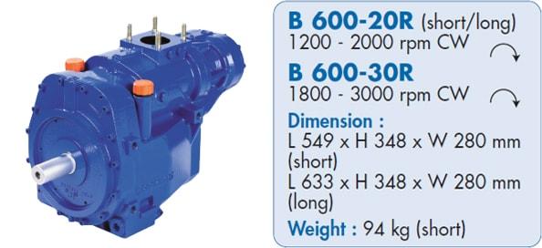 Mouvex Blackmer B600